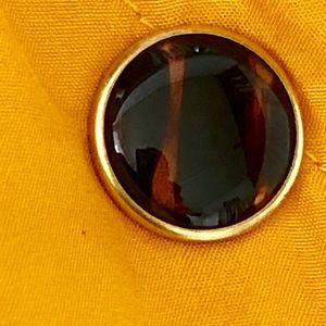 J. McLaughlin Jackets & Coats - J McLaughlin yellow quilted silk jacket